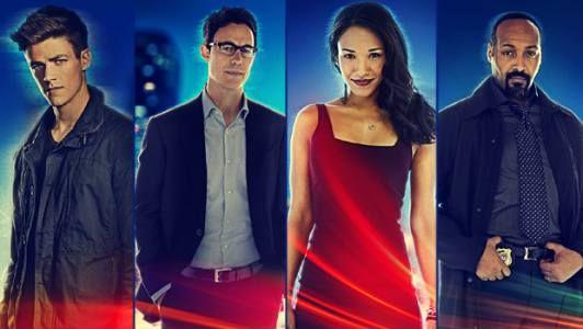 Les affiches électrifiées du casting saison 1 de Flash