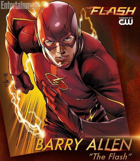 Les personnages : Barry Allen