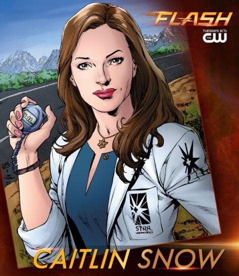 Les personnages : Caitlin Snow