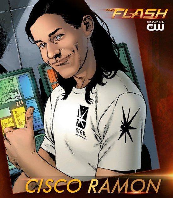 Les personnages : Cisco Ramon