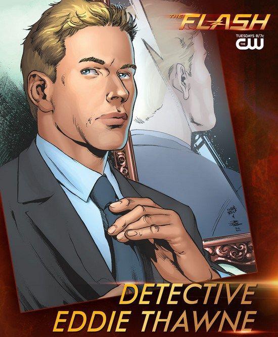 Les personnages : Eddie Thawne