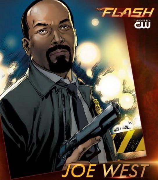 Les personnages : Detective Joe West