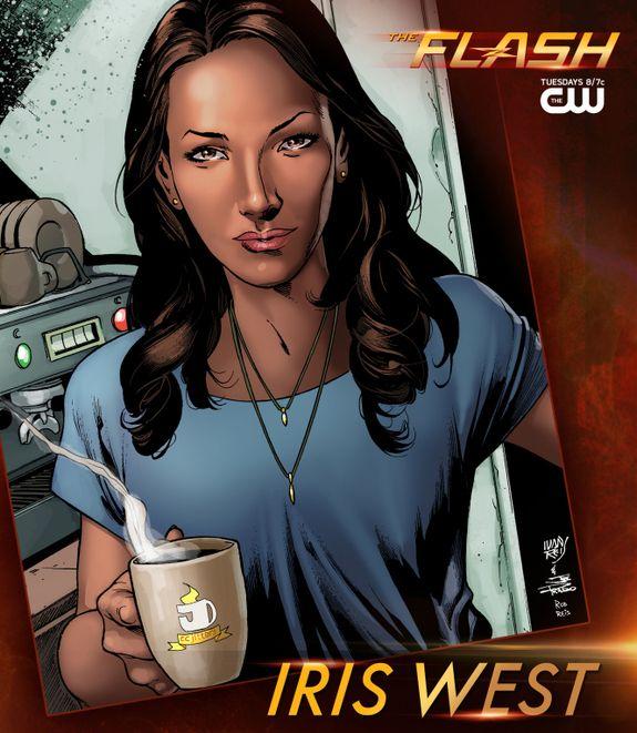 Les personnages : Iris West