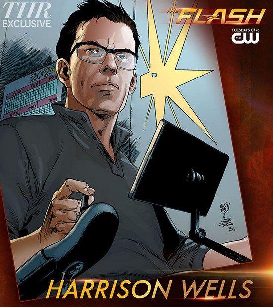 Les personnages : Harrison Wells