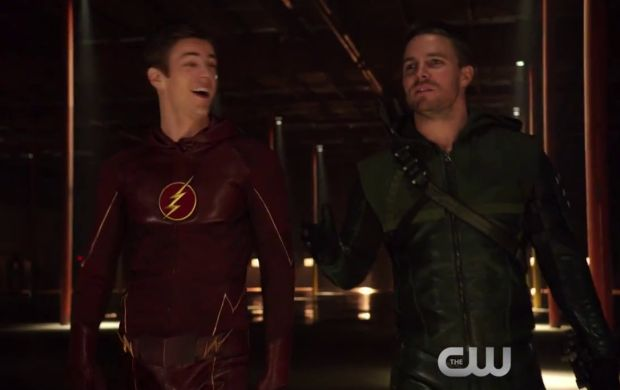 Saison 1 – Bande annonce du 1×08 – Flash vs. Arrow