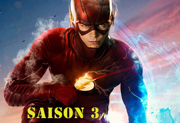 La saison 3 de The Flash sera diffusée sur la CW à partir du 4 octobre