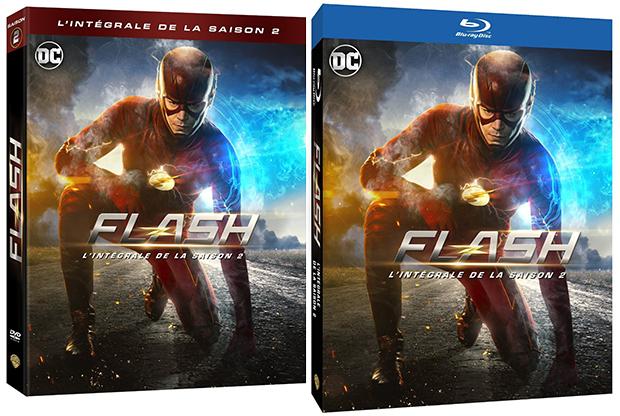 La date de sortie des coffrets DVD – Blu-ray saison 2 de The Flash