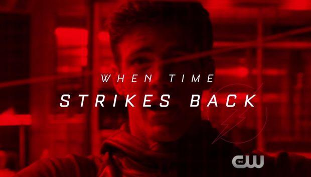 Nouveau trailer pour la saison 3 de The Flash : Time Strikes Back
