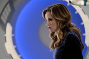 """The Flash -- """" Untouchable"""" -- FLA312a_0141b.jpg -- Pictured: Danielle Panabaker as Caitlin Snow -- Photo: Robert Falconer/The CW -- © 2017 The CW Network, LLC. All rights reserved."""