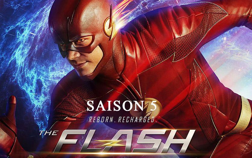 Le premier épisode de la saison 5 de The Flash sera diffusé le mardi 8 octobre
